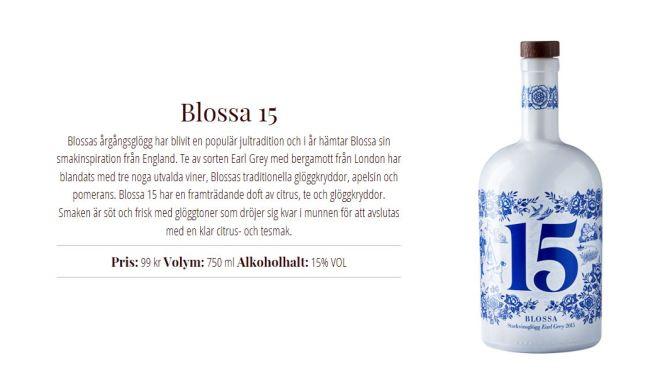 Blossa 15 skarp
