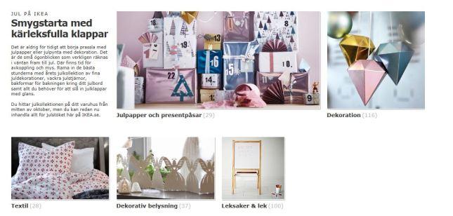 Jul på IKEA 01